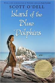 Island of the Blue Dolphins by Scott O'Dell (J)
