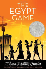 The Egypt Game by Zilpha Keatley Snyder (J)